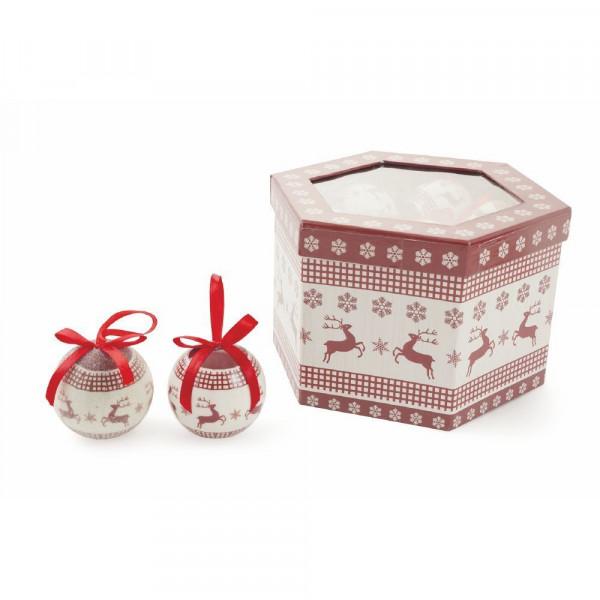 Տոնածառի խաղալիք Palle Natale Renna, SET 14
