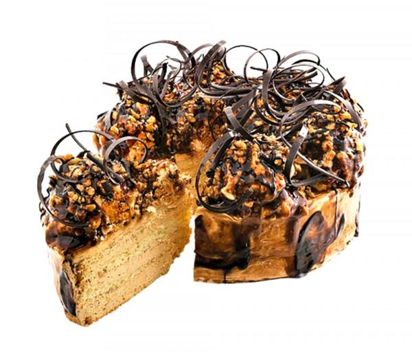Տորթ «Կարամել» (մեծ) Dan Dessert