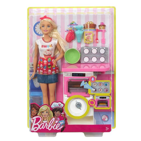 Տիկնիկ հավաքածու Հացաբուլկեղենի խոհարար Barbie