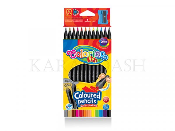 Մատիտներ գունավոր Colorino 55796PTR