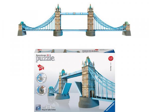 Ravensburger 3D Փազլ «Թաուեր կամուրջ, Լոնդոն» 216p