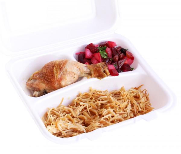 Լանչ բոքս N11 (հավի բդիկով) My Lunch