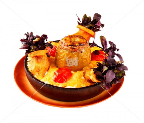 Ֆիրմային ուտեստ «Կովկասի գերուհի»