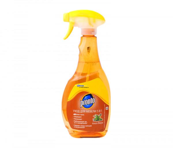 Պրոնտո Կահույք մաքրող միջոց 5-ը 1-ում Ալոե 500մլ