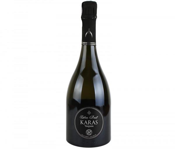 Փրփրուն գինի «Karas Extra Brut» (սպիտակ, չոր) 0.75լ