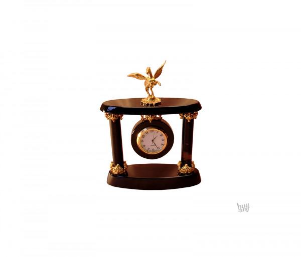 Սեղանի ժամացույց oբսիդիան «Պեգաս»