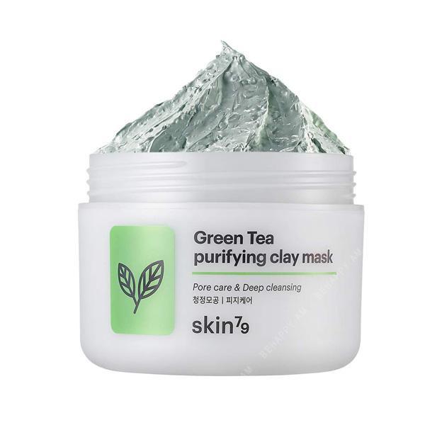 ԿԱՆԱՉ ԹԵՅԻ ԿԱՎԵ ԴԻՄԱԿ Green Tea Purifying Clay Mask