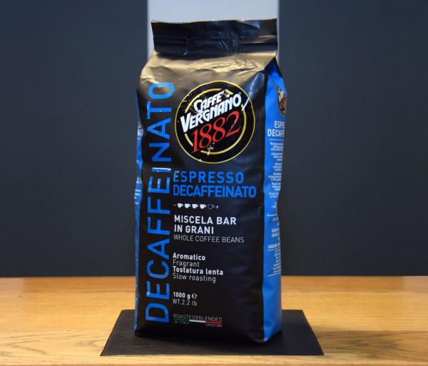 Հատիկավոր սուրճ «Espresso Decaiffeinato» 1կգ Վերնիանո 1882