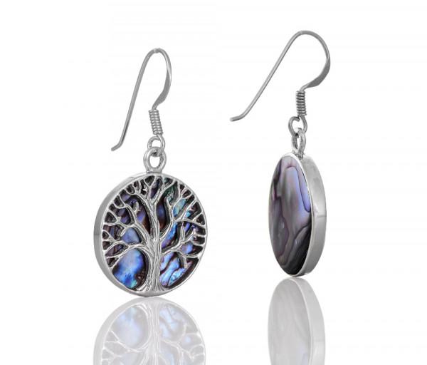 Silver earrings SE110A