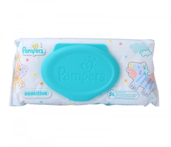 Pampers Wet Wipes x56