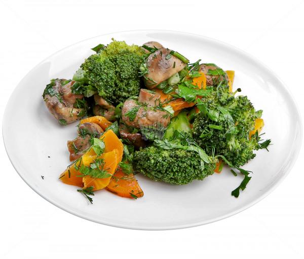 Աղցան (բրոկոլիով և սնկով) Smak Salad