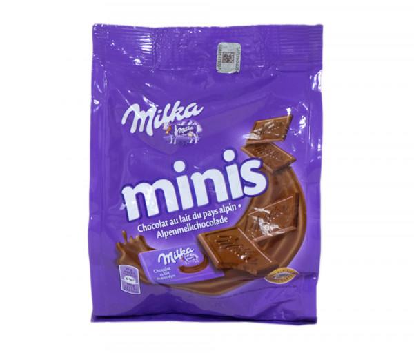 Միլկա Մինիս Կաթնային շոկոլադ 200գ