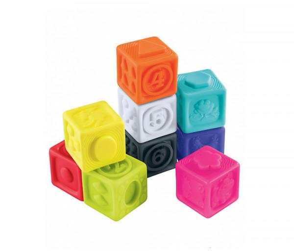 Զարգացնող խաղ գույնզգույն խորանարդներով, տարիքը՝ 6-18 ամսական 149182EL