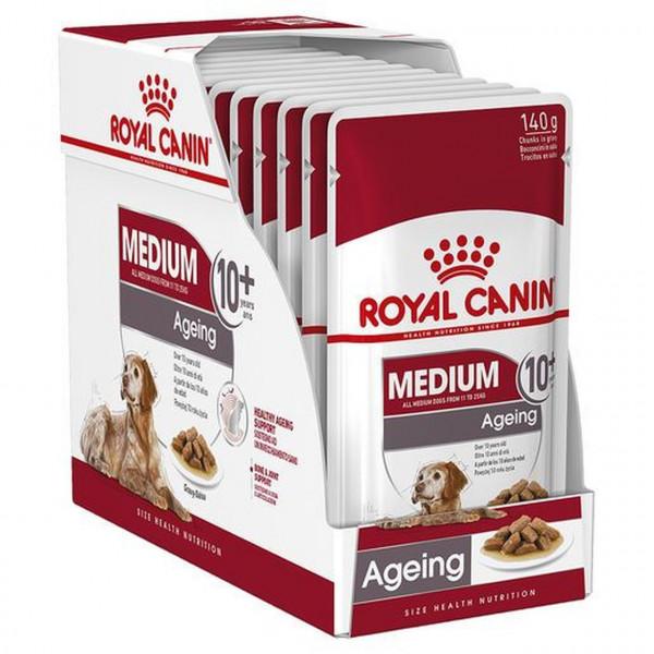 Շան խոնավ կեր Medium ageing gravy 10 x 140 գ