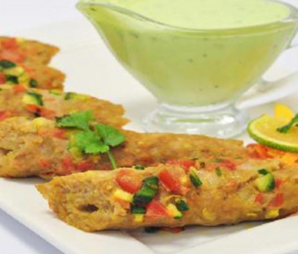Բանջարեղենային Սիկ քեբաբ Կառմա Հնդկական Ռեստորան