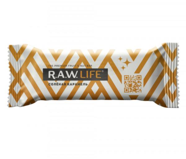 R.A.W. Life Աղի կարամել 47գ