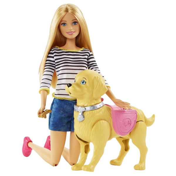 Տիկնիկ հավաքածու Walk & Potty Pup Barbie