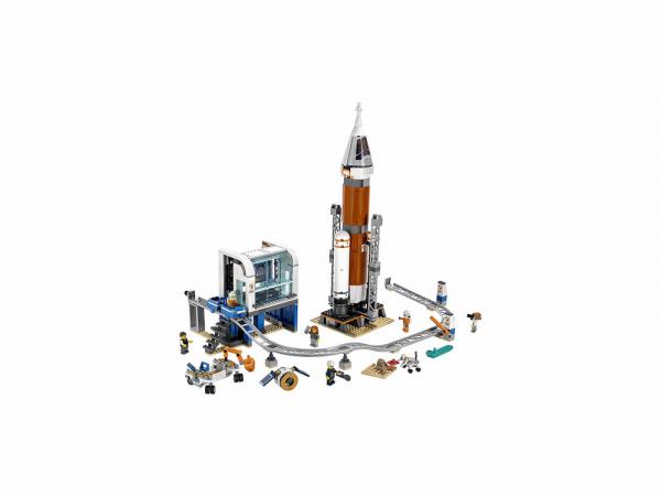 Lego City Կառուցողական խաղ «Տիեզերական Հրթիռ և Մեկնարկման Կայան»