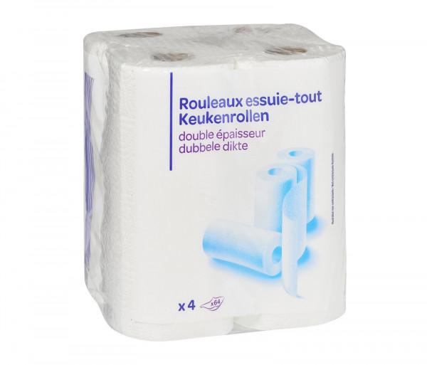 Քարֆուր Խոհանոցային սրբիչ Սպիտակ x4