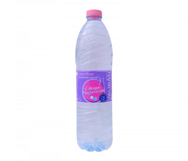 Քարֆուր Բնական հանքային ջուր Վաուբան 1լ