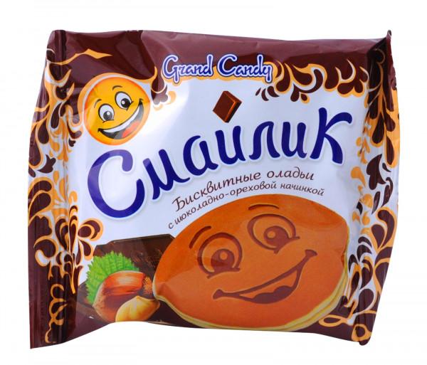 Գրանդ Քենդի Սմայլիկ Շոկոլադ-Ընկույզ 40գ