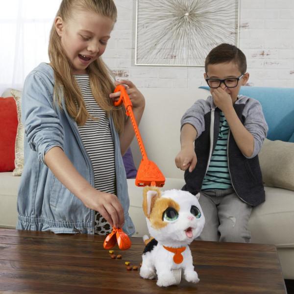 Hasbro Ինտերակտիվ Զբոսանքի Խաղալիք FUR REAL FRIENDS Big Poopalots «Կատու»