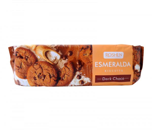 Ռոշեն Թխվածքաբլիթներ Մուգ շոկոլադ Էսմերալդա 150գ