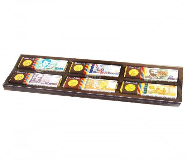 Շոկոլադե սալիկ «Հայկական դրամ» Grand Candy