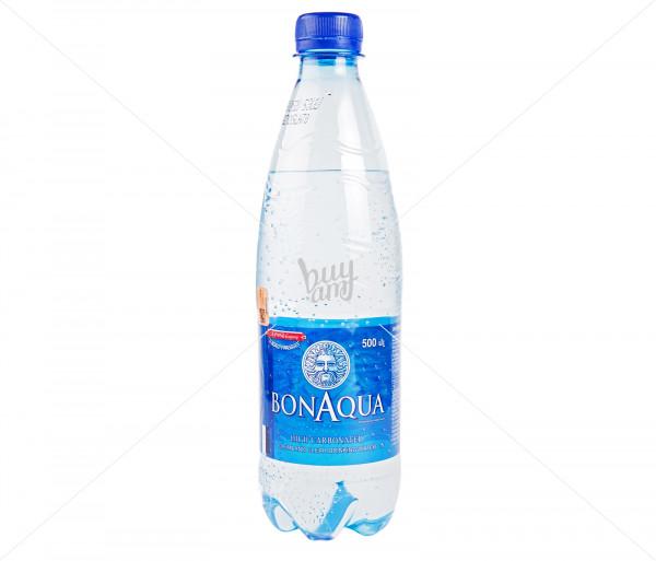Գազավորված ջուր «BonAqua» 0.5լ
