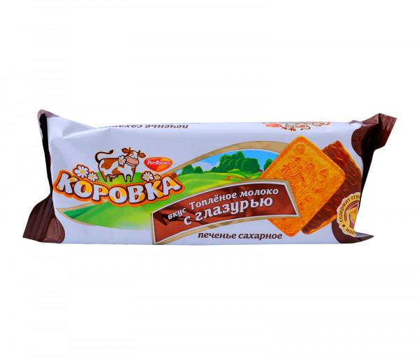 Կորովկա Թխվածքաբլիթներ շոկոլադե ջնարակով 115գ