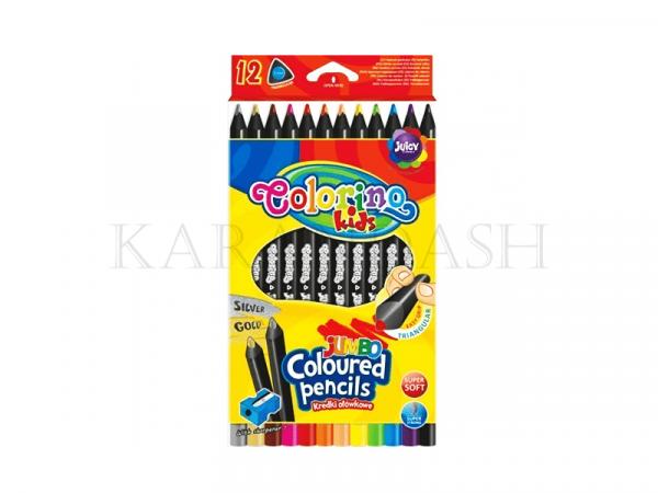 Մատիտներ գունավոր Colorino 55826PTR