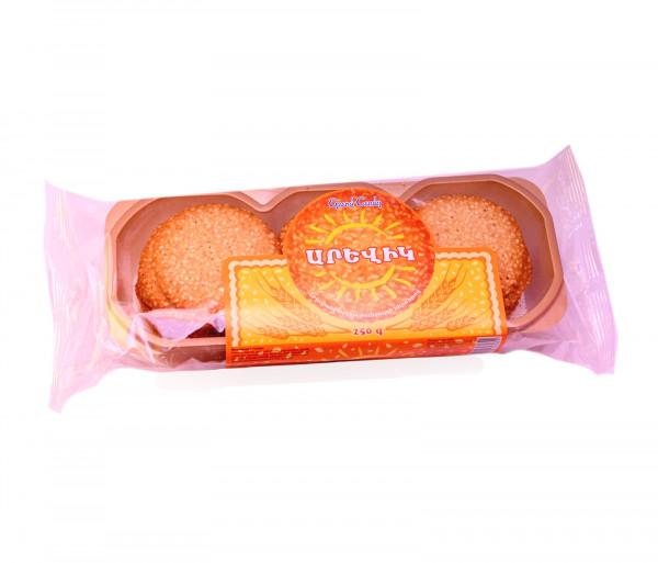 Թխվածքաբլիթ քունջութի սերմերով «Արևիկ» Grand Candy