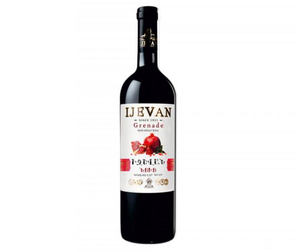 Իջևան Նռան կիսաքաղցր գինի 0.75լ