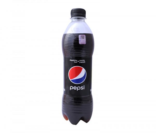Պեպսի Գազավորված Ըմպելիք Սև 0.5լ
