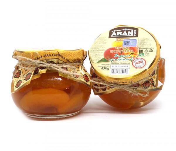 Peach jam «ARAN Food» 430g