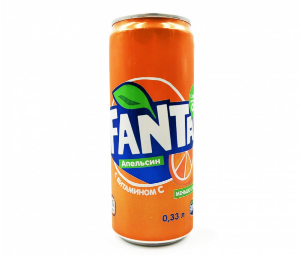 Զովացուցիչ ըմպելիք «Fanta» 0.33լ