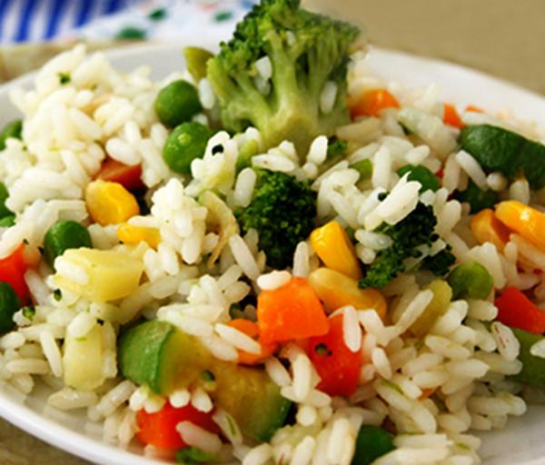Բրինձ բանջարեղենով
