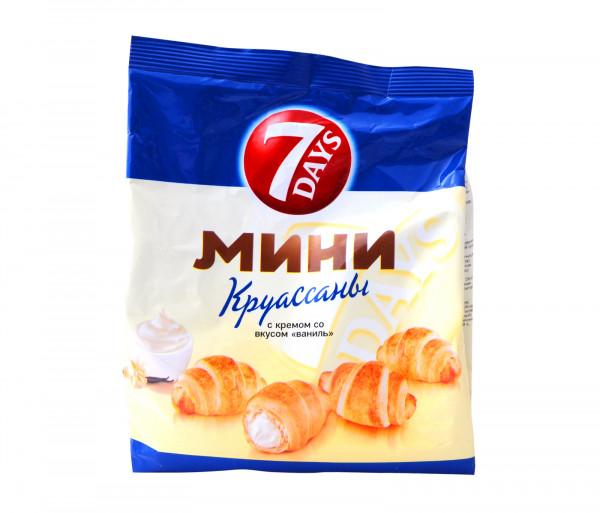 7 օր Մինի Կրուասան Վանիլ 200գ