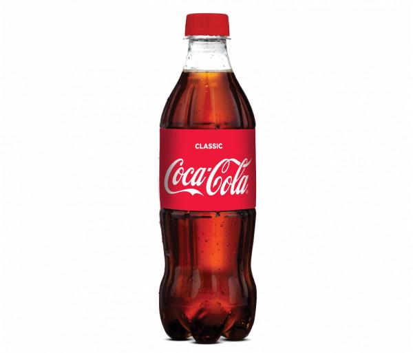 Զովացուցիչ ըմպելիք «Coca-Cola» 0.5լ