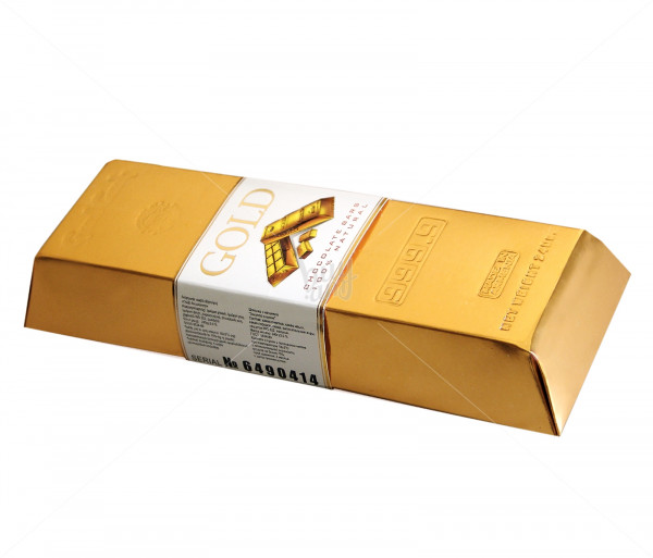 Շոկոլադե սալիկ «Ոսկե ձուլակտոր» Grand Candy