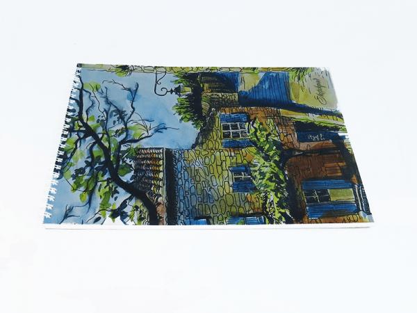 """Ալբոմ նկարչական Paper Art""""Ամառային քաղաք. Ջրաներկ"""" СПСЛ44024 40 թերթ"""
