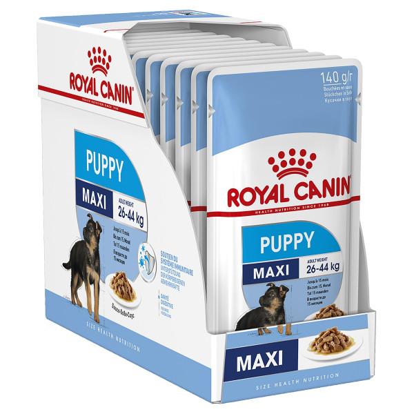 Շան խոնավ կեր Maxi puppy gravy 10 x 140 գ