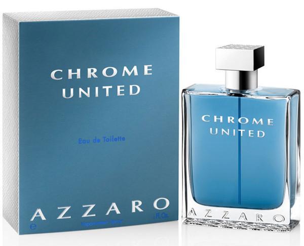Տղամարդու օծանելիք Azzar Chrome United Eau de Toilette 50 մլ