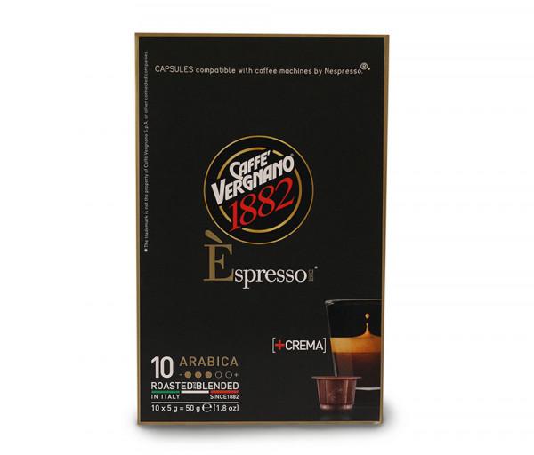 Արաբիկա կապսուլաներ (10 հատ) Caffe Vergnano