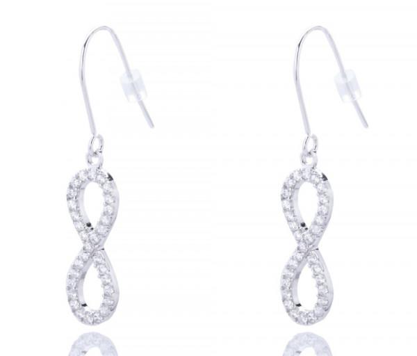 Silver earrings SE300