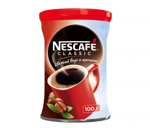 Նեսկաֆե Կլասիկ Լուծվող սուրճ 100գ