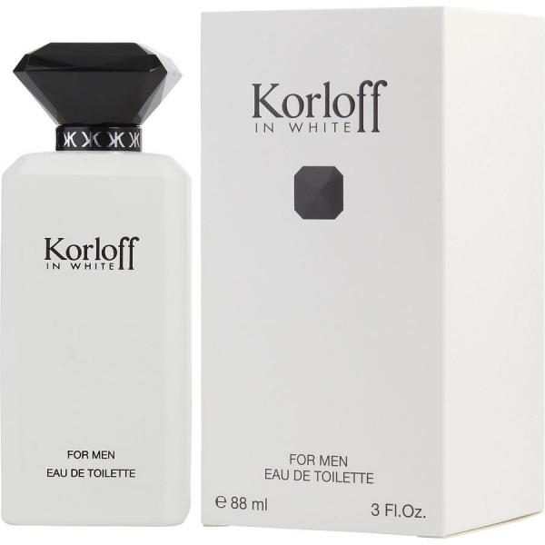 Տղամարդու օծանելիք Korloff In White Eau De Toilette 88 մլ