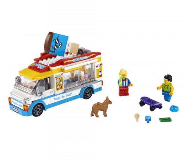 Lego City Կառուցողական Խաղ «Պաղպաղակավաճառի ֆուրգոն»