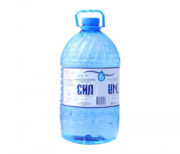 Սիլ Աղբյուրի Ջուր 6լ