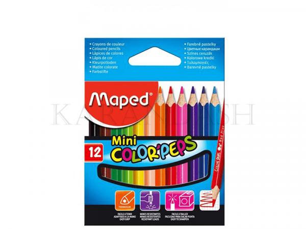 Մատիտներ գունավոր Maped Color peps mini FR83250004
